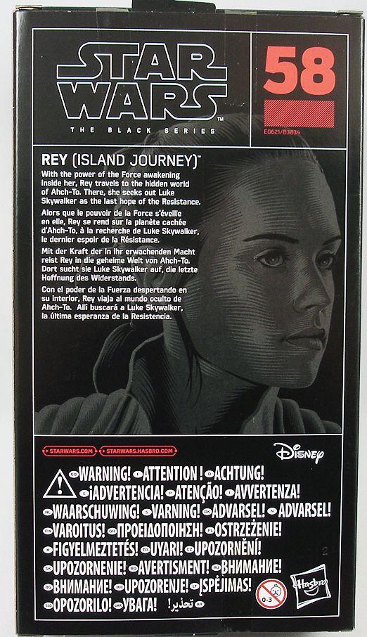 Star Wars The Black Series 6\'\' - #58 Rey (Island Journey)
