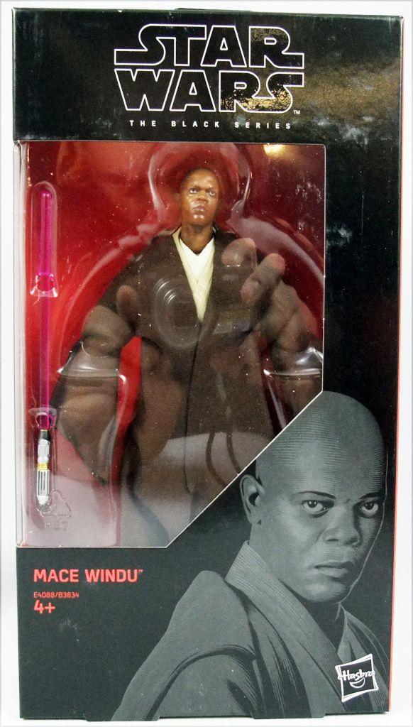 "IN HAND Star Wars The BLACK Series 6/"" MACE WINDU #82"