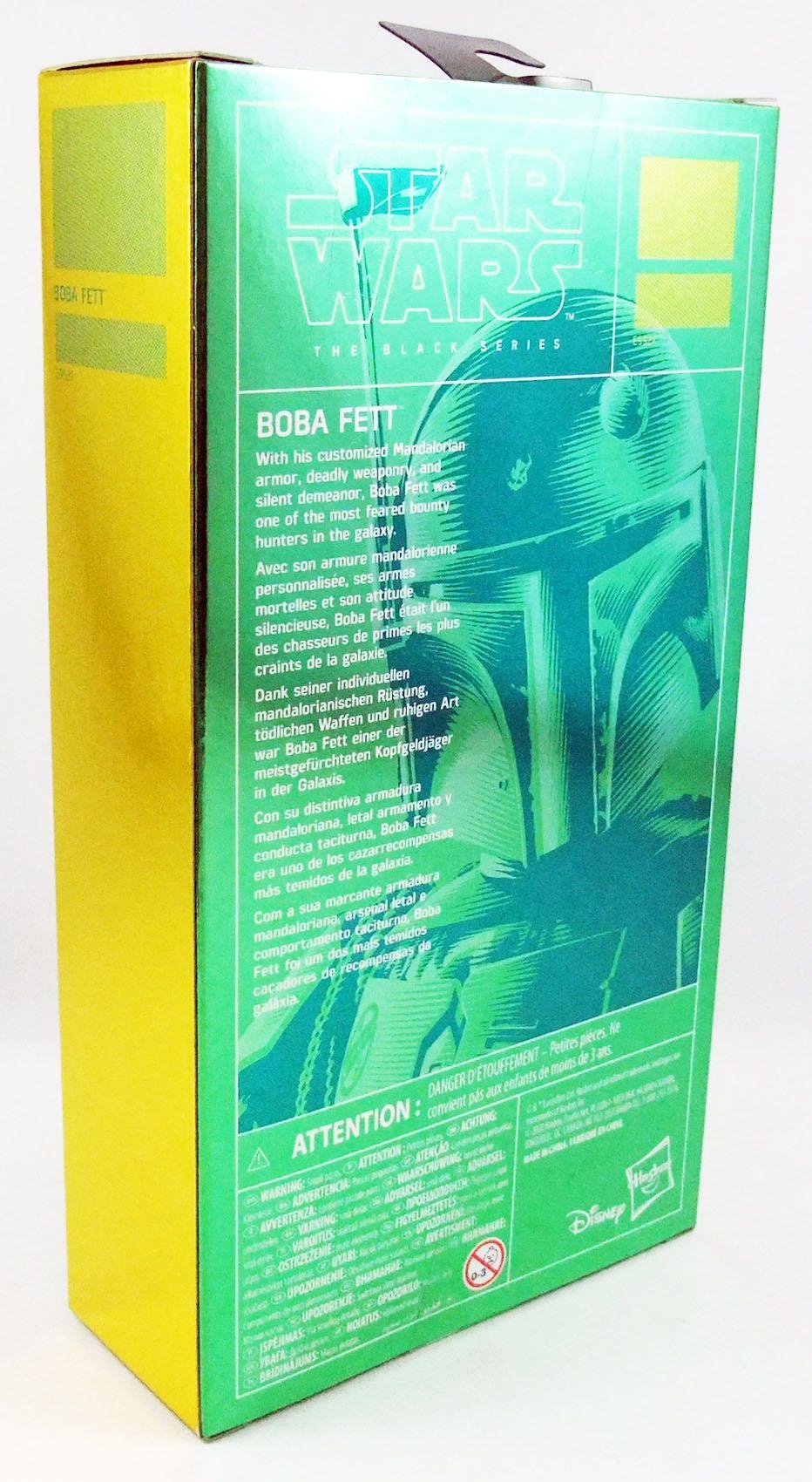 "Star Wars The Black Series 6\'\' - \""Carbonized\"" Boba Fett"