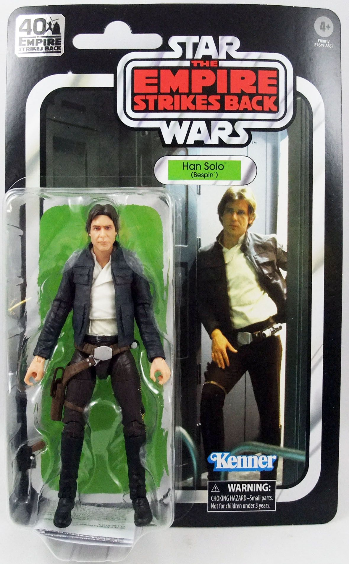 """Star Wars The Black Series 6\"""" - \""""40th Anniversary\"""" Han Solo (Bespin)"""