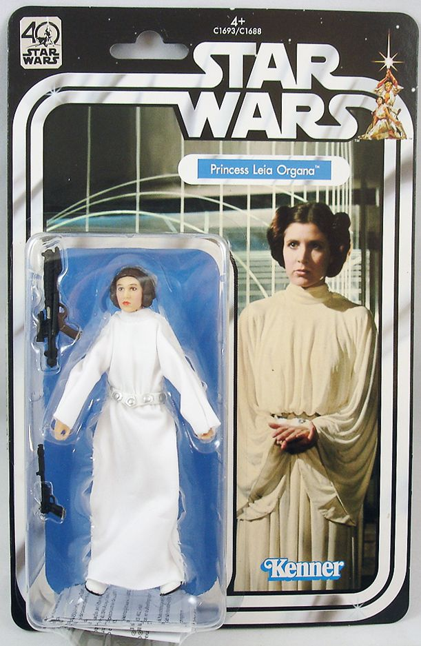 "Star Wars-The Black Series 40th Anniversary Princess Leia Organa 6/"""
