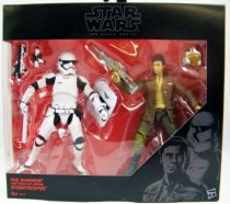 Star Wars The Black Series 6\'\' - Episode VII Poe Dameron & Stormtrooper (Exclusive)