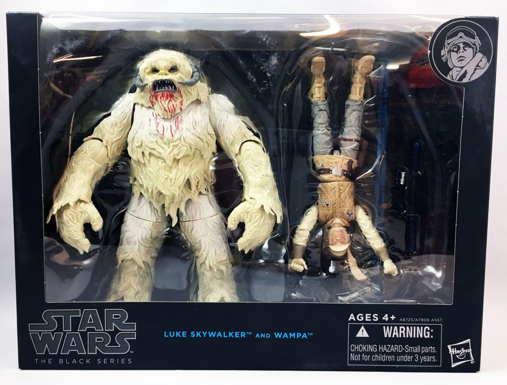 Star Wars The Black Series 6\'\' - Luke Skywalker & Wampa
