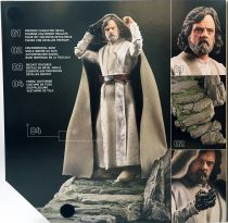 Star Wars The Black Series 6\'\' - Luke Skywalker (Jedi Master) on Ahch-To Island (Target Exclusive)