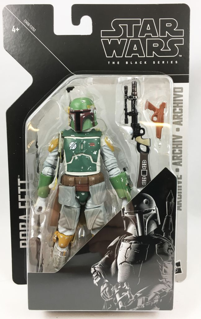 "Star Wars Black Series archive BOBA FETT 6/"" Action Figure"