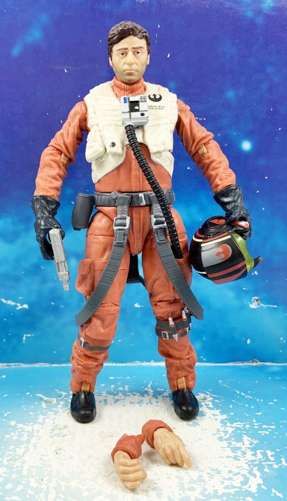 Star Wars The Black Series 6\'\' (loose) - #07 Poe Dameron (X-Wing Pilot)