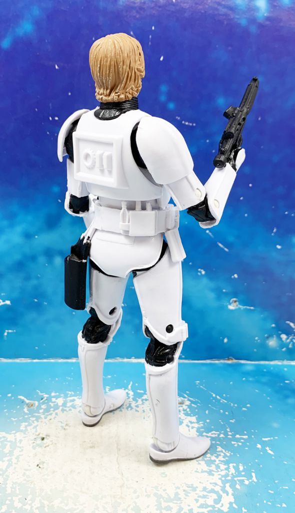 Star Wars The Black Series 6\'\' (loose) - #12 Luke Skywalker (Stormtrooper Disguise)