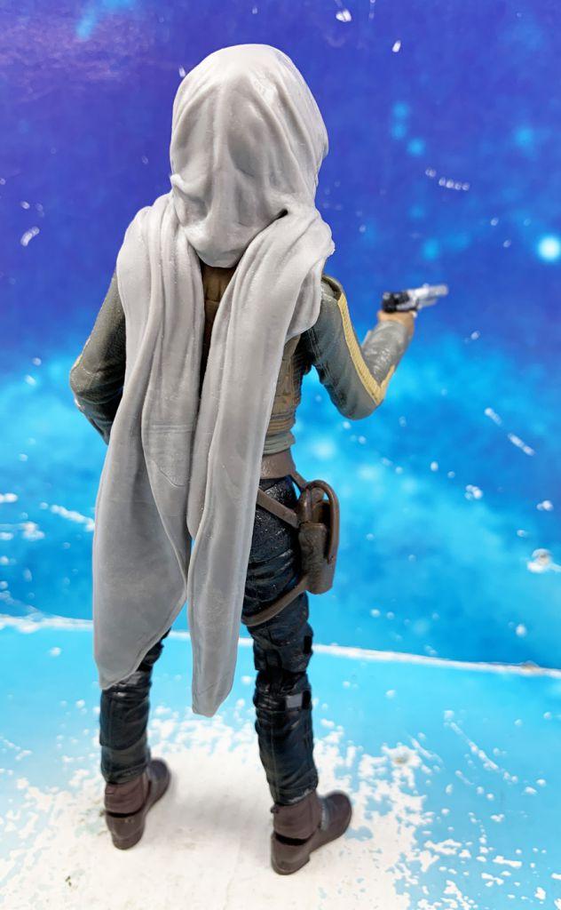 Star Wars The Black Series 6\'\' (loose) - #22 Sergeant Jyn Erso (Jedha) Rogue One