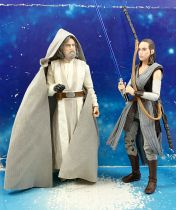 Star Wars The Black Series 6\'\' (loose) - Luke Skywalker With Rey (SDCC 2017)