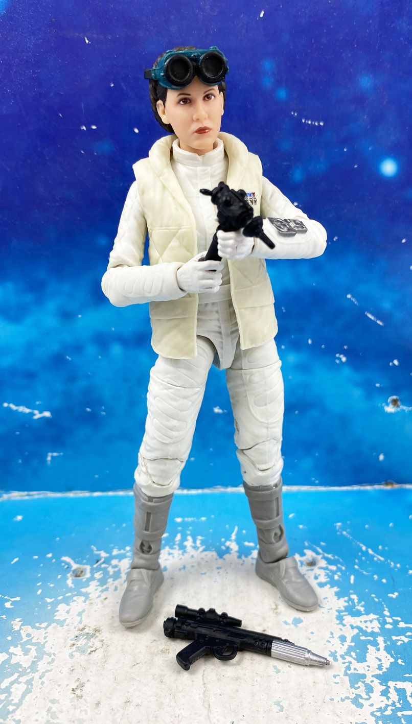 "Star Wars The Black Series 6\"" (loose) - \""40th Anniversary\"" Princess Leia Organa (Hoth)"