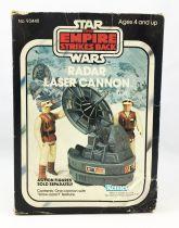 Star Wars The Empire strikes back 1981 - Kenner - Mini Rigs : Radar Laser Cannon (Neuf en Boite)
