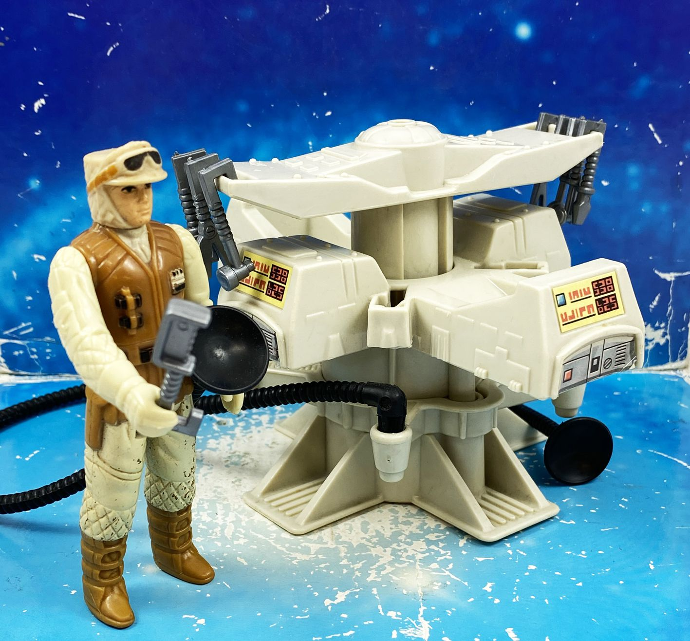 Star Wars The Empire strikes back 1981 - Kenner - Mini Rigs : Vehicle Maintenance (Loose)