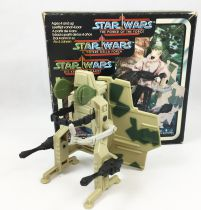 Star Wars The Power of Force 1985 - Kenner - Mini Rigs : Security Scout Vehicle (occasion en boite)