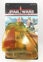 Star Wars The Power of the Force 1985 - Kenner - Mini Rigs : One-Man Sand Skimmer (mint on card)