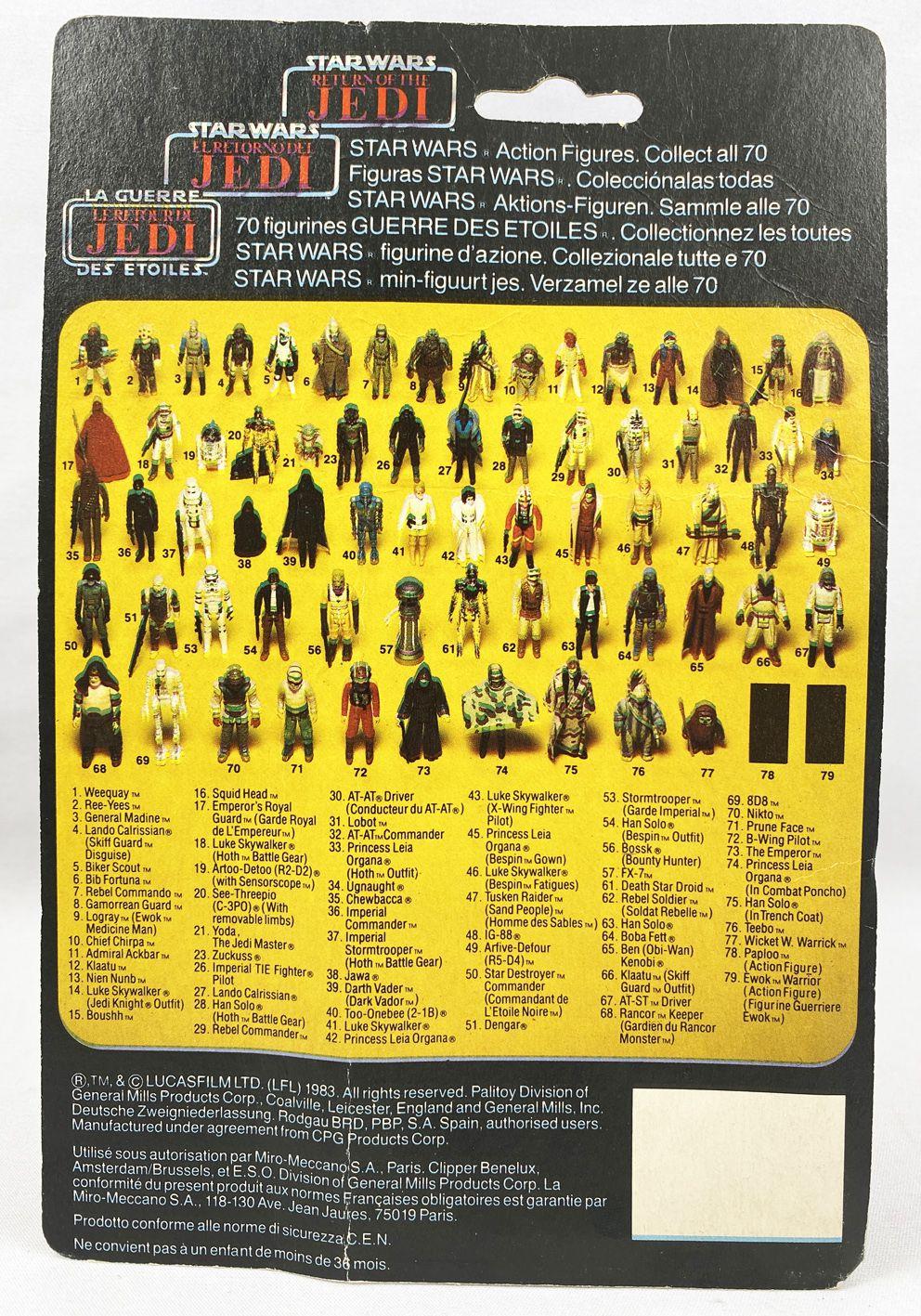 Star Wars Trilogo ROTJ 1983/1985 - Kenner - Amanaman