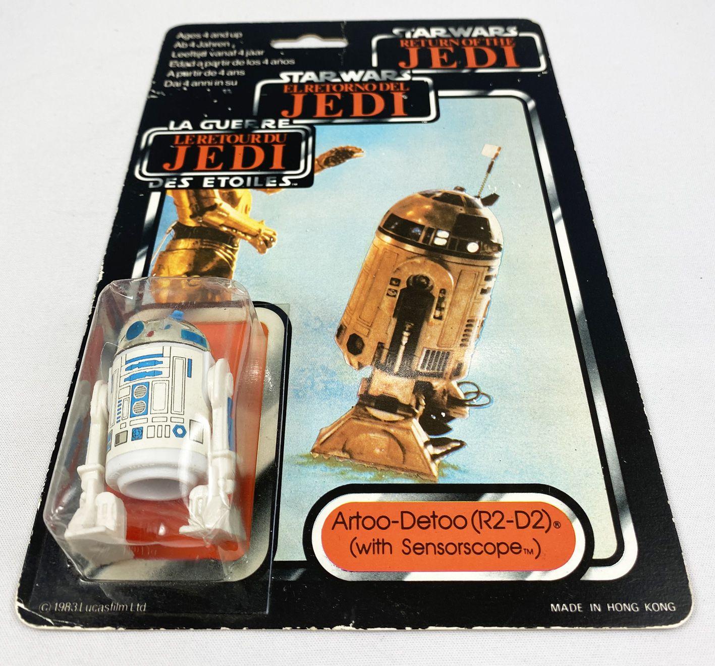 Star Wars Trilogo ROTJ 1983/1985 - Kenner - Artoo-Detoo (R2-D2) with Sensorscope