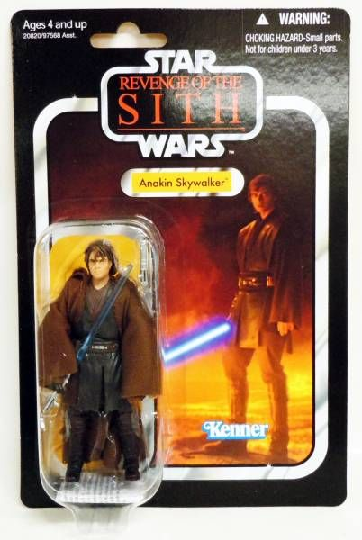 Star Wars The Vintage Collection Hasbro Anakin Skywalker Revenge Of The Sith
