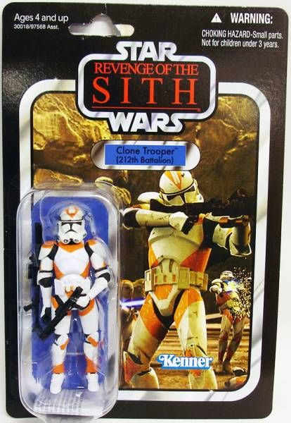 Star Wars The Vintage Collection Hasbro Clone Trooper 212th Batallion Revenge Of The Sith