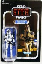 Star Wars vintage style - Hasbro - Clone Trooper (501st Legion) - Revenge of the Sith