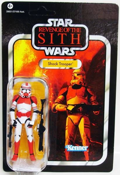 Star Wars vintage style - Hasbro - Shock Trooper - Revenge of the Sith