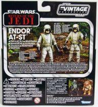 Star Wars vintage style - Hasbro - Special Set - Endor AT-ST Crew Driver & Gunner