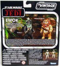 Star Wars vintage style - Hasbro - Special Set : Ewok Scouts Wunka & Widdle Warrick