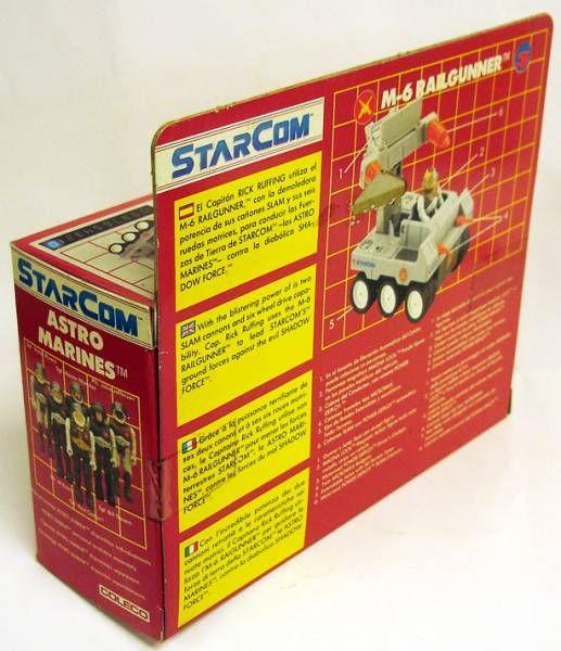 Starcom - Coleco - M-6 Railgunner