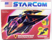 Starcom - Coleco - Shadow Bat (loose with box)