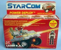 Starcom - Mattel -  Laser R.A.T. (loose with box)