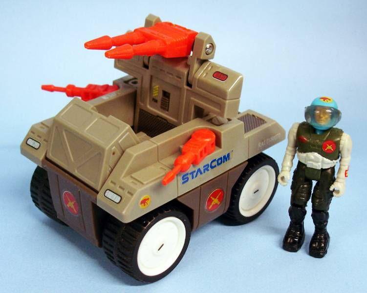 Starcom - Mattel -  Laser R.A.T. (loose with box)