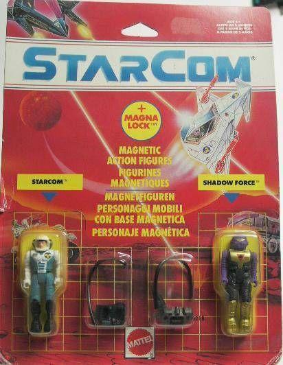 Starcom - Mattel - Col. James Derringer & Capt. Hydrone