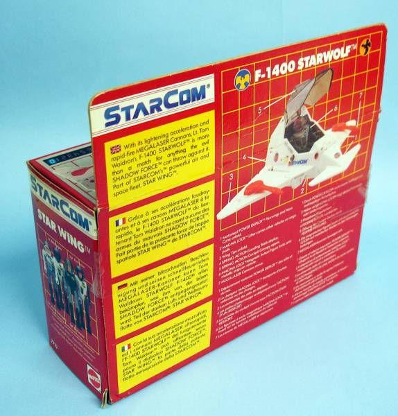 Starcom - Mattel - F-1400 Starwolf (loose with box)