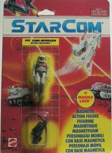Starcom - Mattel - PFC John Jefferson