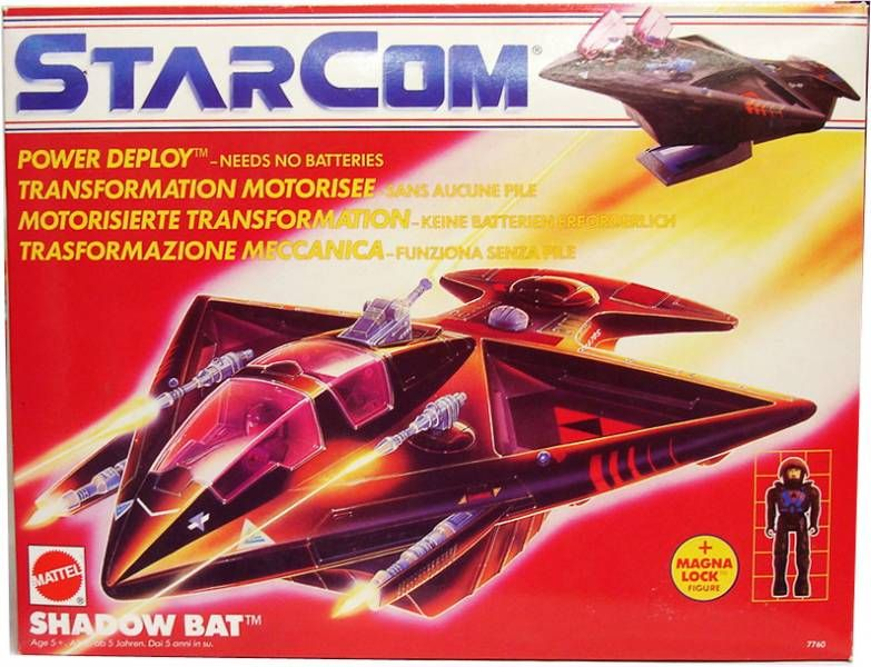 Starcom - Mattel - Shadow Bat
