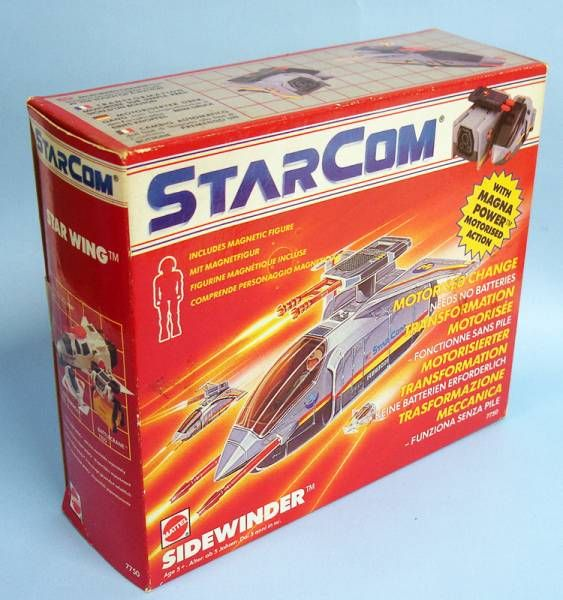 Starcom - Mattel - Sidewinder (loose with box)