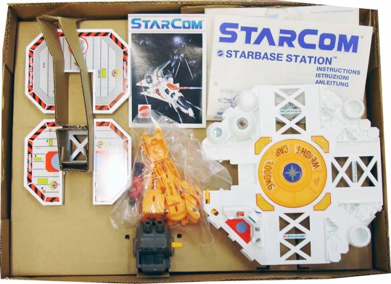 Starcom - Mattel - Starbase Station (loose with box)