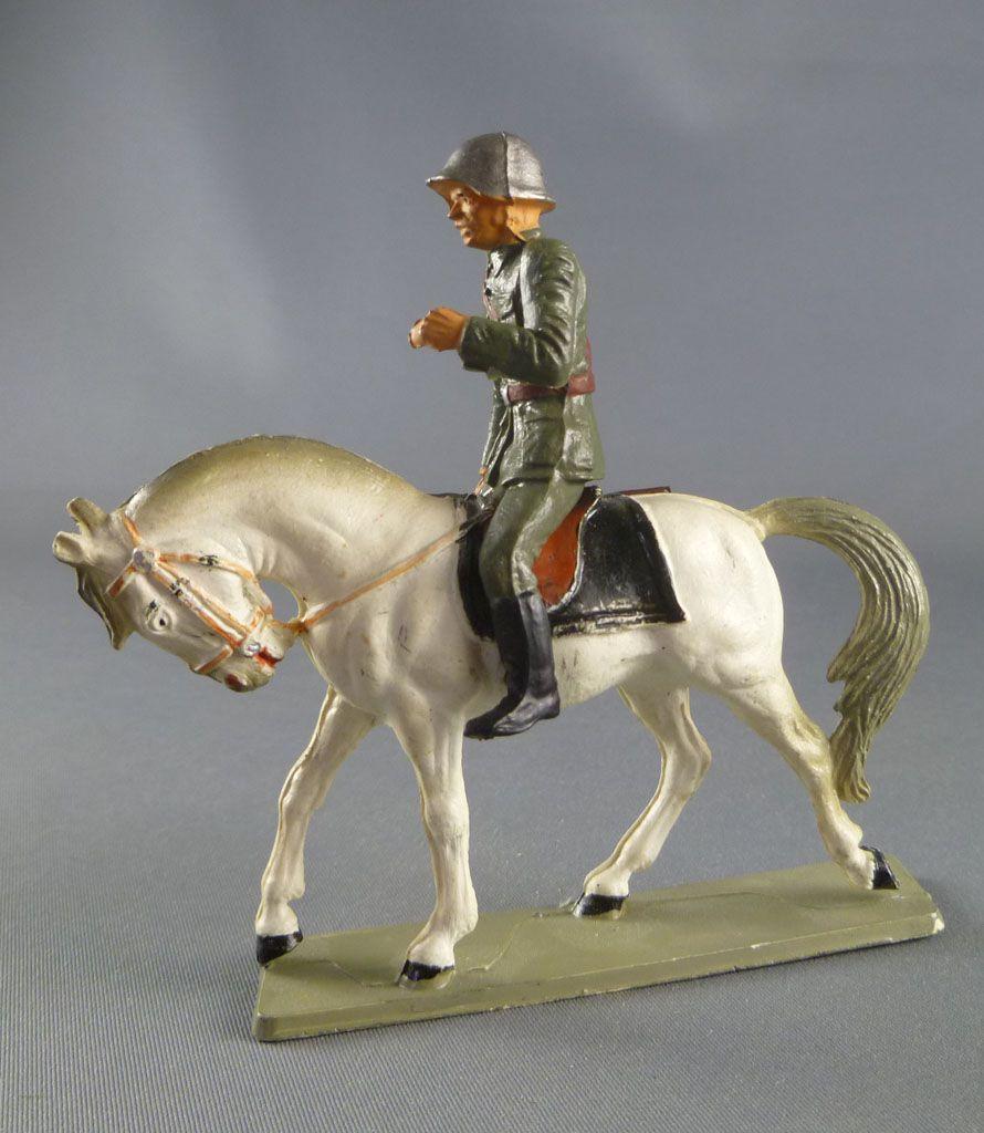 Starlux - Armée Helvétique - Cavalier Dragon Suisse Fusil en Main (réf DS203)