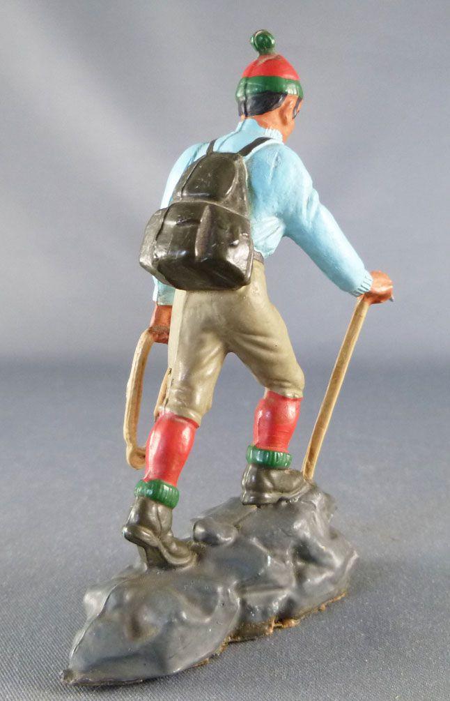 Starlux - Articles Souvenir - Alpiniste sur rocher (bleu)
