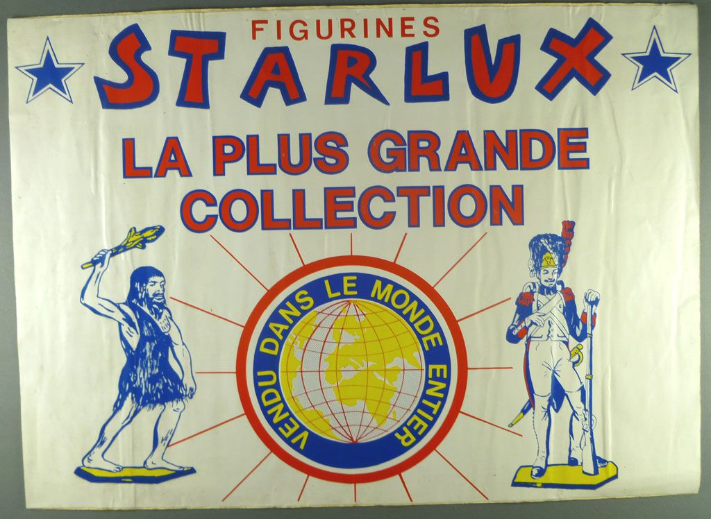 Starlux - Autocollant pour Vitrine de Magasin 45 x 32cm