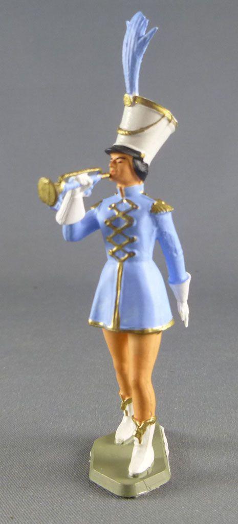 Starlux - Circus - Series 69 - Cheer leaders bugler (light blue)