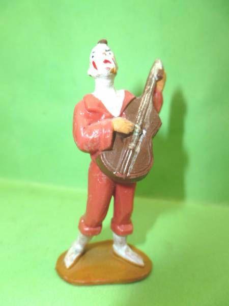 Starlux - Cirque - série 53 - Clown mandoline rouge (réf 602)