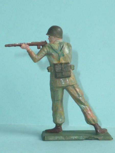 Starlux - Commando - Serie Luxe Speciale - Firing rifle standing (ref 5323)