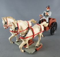 Starlux - Confederates - Regular Series - Limber with Driver & 2 Horses