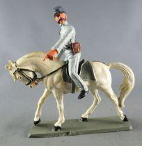 Starlux - Confederates - Regular Series - Mounted Crop Looking Left White Horse (ref CSXX)