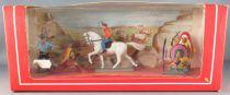Starlux - Cow-Boys & Indiens - Boite Série Luxe 1 Cavalier 5 Piétons