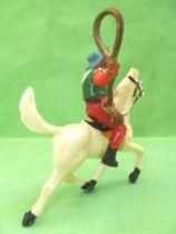 Starlux - Cow-Boys - Série 53 - Cavalier Lasso (réf 418)