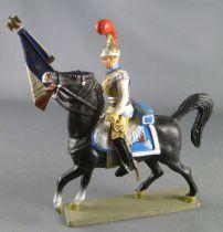 Starlux - Empire - Carabiniers Cavalier - Officier Porte-Drapeau 1810-1815 (réf 8158/FH60532)