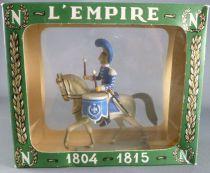 Starlux - Empire - Carabiniers Cavalier - Timbalier 2ème Rgt 1811 en Boite Liseret (réf 8156/FH60530)