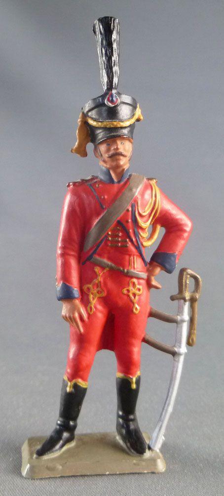 Starlux - Empire - Piéton Lancier de la Garde 2° Régt Chevaux-Léger début 1811 (réf 8057)