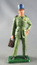Starlux - Etat Major - Série Luxe spéciale - Officier d\'E. M. porte document réf (5362)